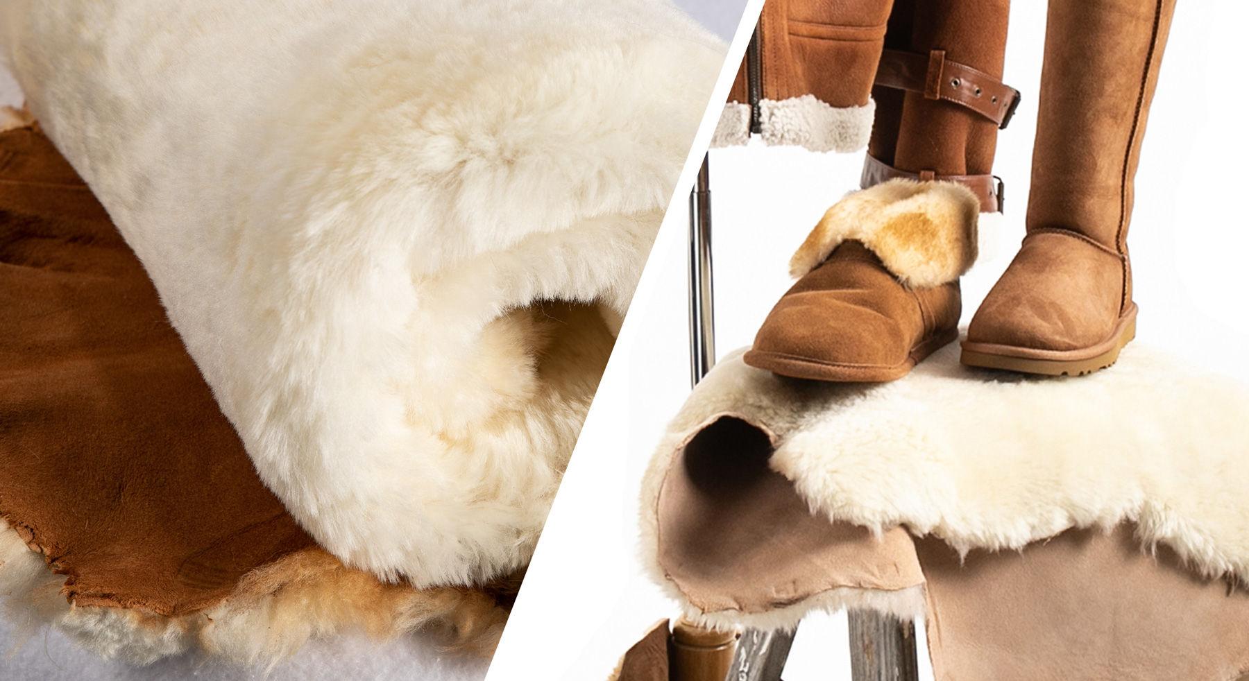 Fibre by Auskin sheepskin textures